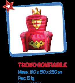 trono-gonfiabile