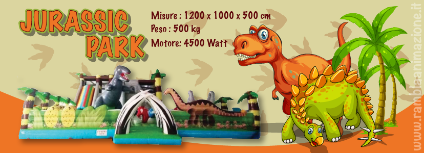 Gonfiabile-dinosauro