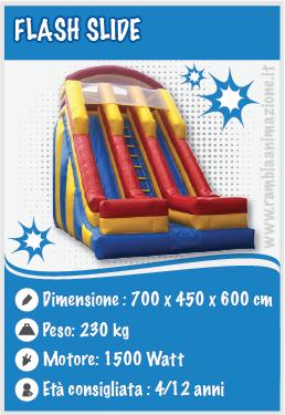 Noleggio scivolo Pescara