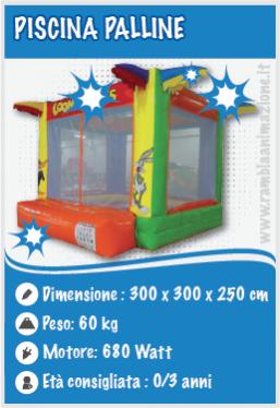 Noleggio Piscina di palline per Bambini Pescara, Chieti e Teramo