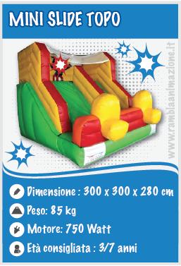 Noleggio MIni Gonfiabile professionale Topolino Gonfiabile Pescara e Montesilvano
