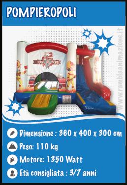Noleggio Gonfiabili Pesaro Urbino