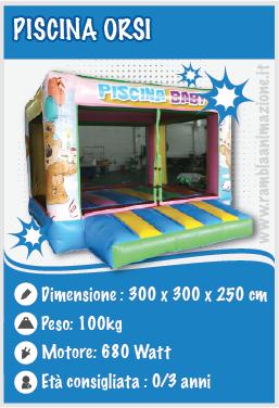 Noleggio Piscina di Palline per bambini piccoli da 0 a 3 anni