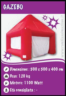 Noleggio gonfiabili pubblicitari e decorativi Abruzzo
