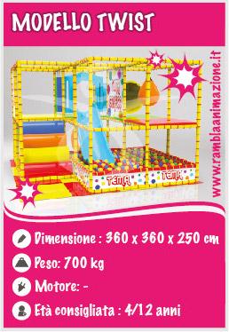 Vendita Playground per Bambini in Abruzzo