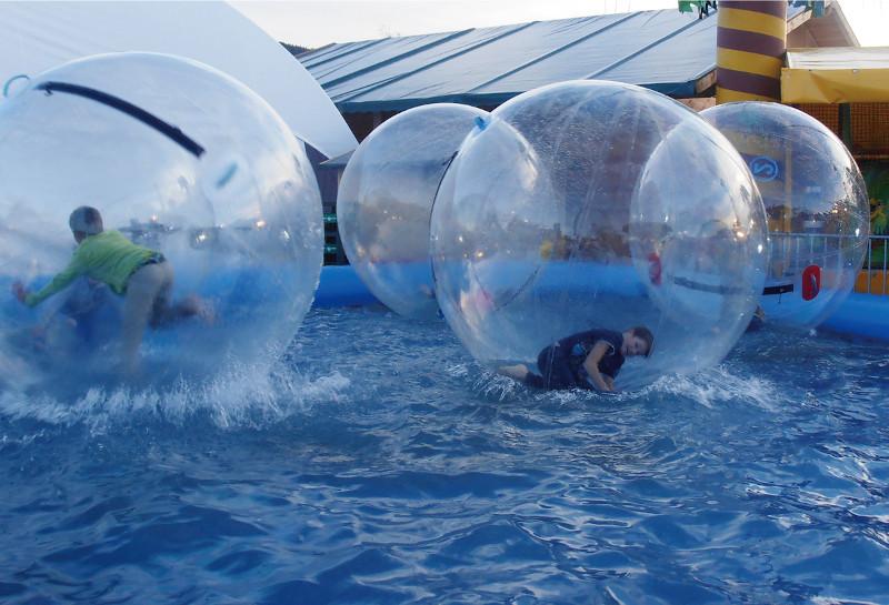 Waterball con Piscina